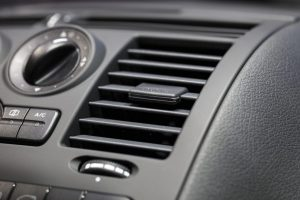 air conditioning vent in car